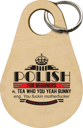 Polish for begginers Teas Who You Yeah Bunny -Breloczek