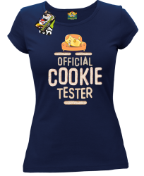 Official Cookie Tester granatowa