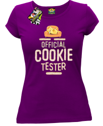 Official Cookie Tester fioletowa