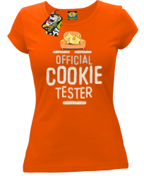 Official Cookie Tester orange