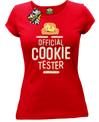 Official Cookie Tester red