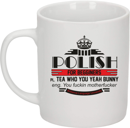 Polish for begginers Teas Who You Yeah Bunny - Kubek ceramiczny
