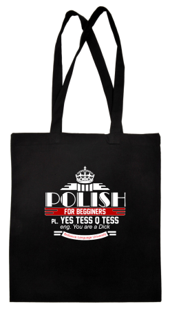 Polish for begginers Yes Tess Q Tess - Torba EKO