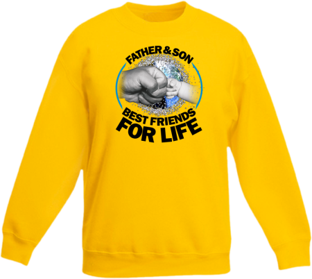 Father & son best friends for life - Bluza dziecięca STANDARD