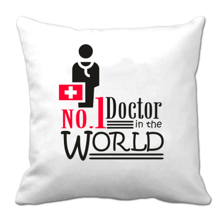 No1 Doctor in the world  - Poduszka