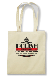 Polish for begginers Teas Who You Yeah Bunny - Torba EKO beżowa