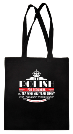 Polish for begginers Teas Who You Yeah Bunny - Torba EKO