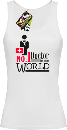 No1 Doctor in the world - Top damski